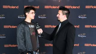 #05 Gabriel Guilherme Interview; V-Drums World Championship 2012