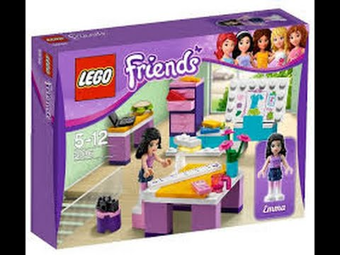 Review  Lego Friends Atelier Da Estilista  Youtube