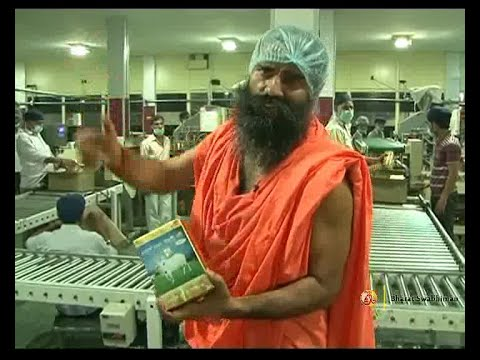 Patanjali Cow Desi Ghee | Manufacturing Process | 01 Oct 2015 (Part 1)