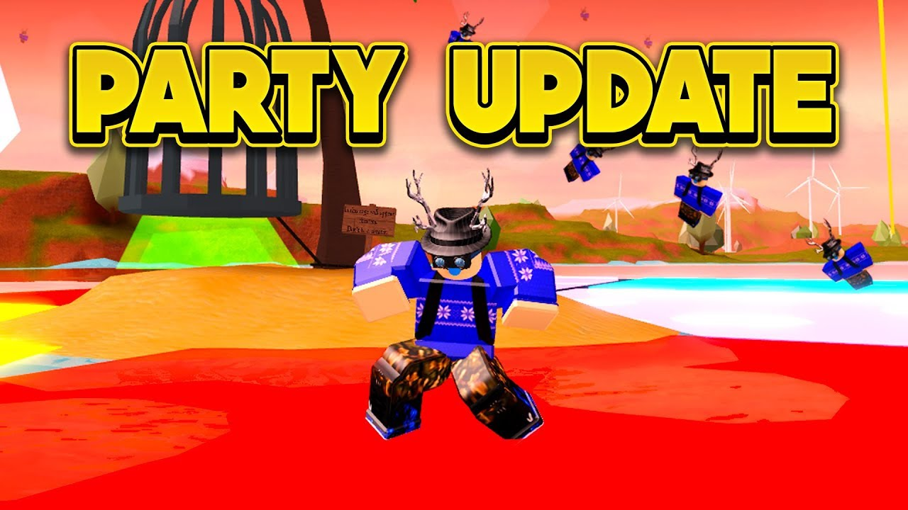 New Party Update More Roblox Jailbreak Youtube