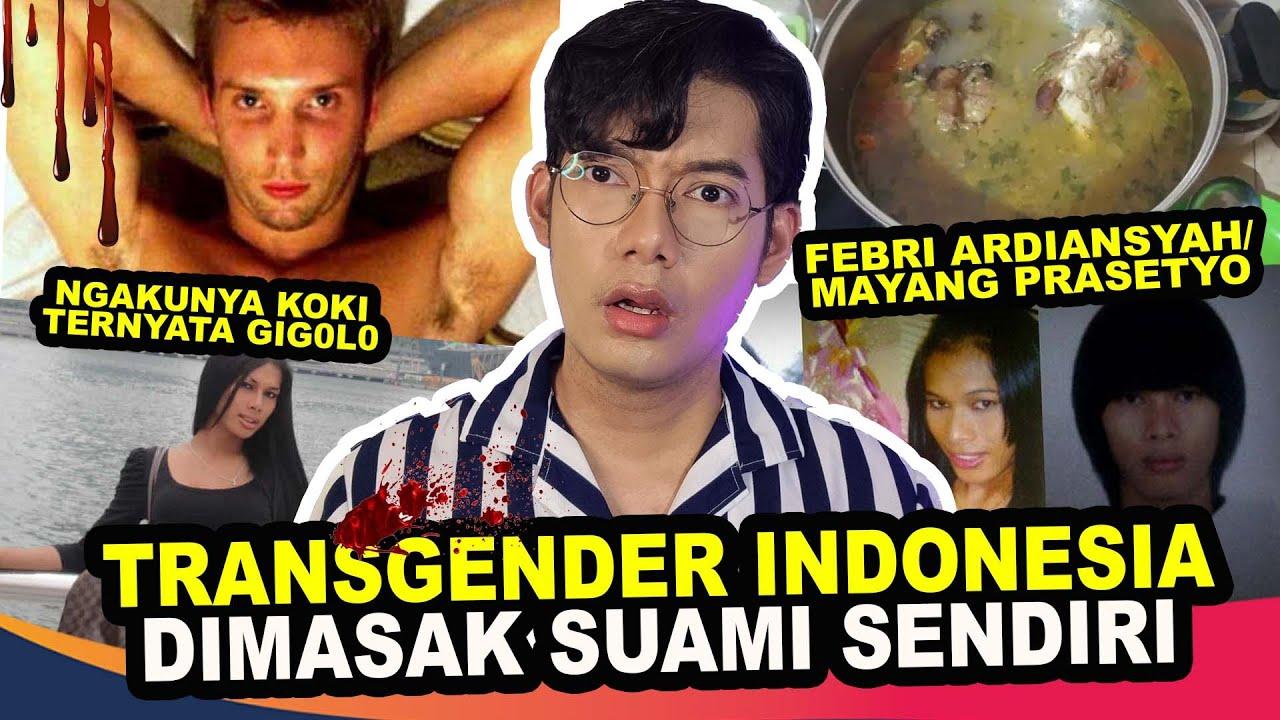 TRANSGENDER INDONESIA DIMUT1LASI & DIMASAK SUAMI BULE DI PANCI