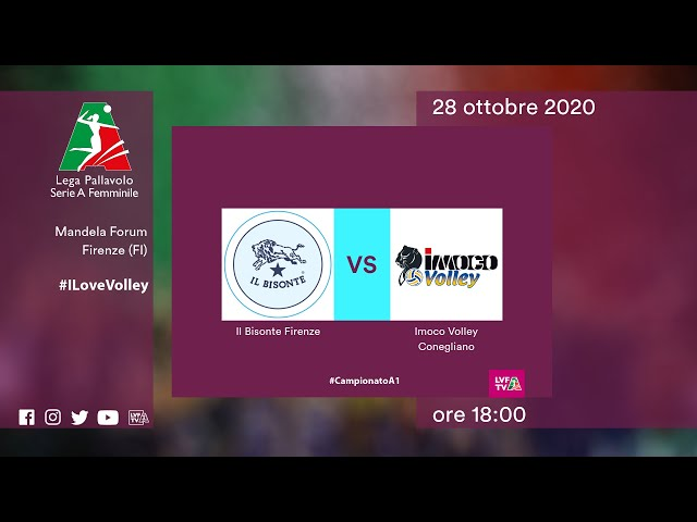 Firenze - Conegliano | Speciale | 8^Giornata Campionato | Lega Volley Femminile 2020/21