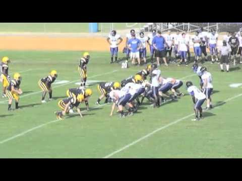 Triton High School Varsity Football vs Cape Fear HS 8.8.2012