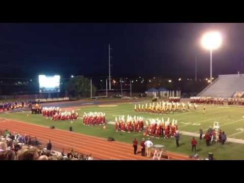 Iowa State University Football Varsity Marching Band At The Davenport Schools Band Spectacular 10/1