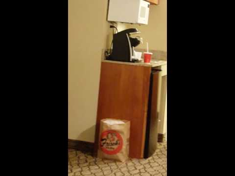 Ohio hotel room tour