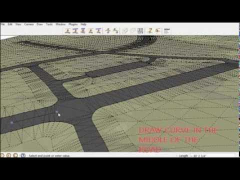 SketchUp Instant Road Nui Plugin #2 - Vali Architects