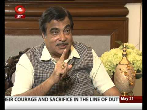 3 Saal Modi Sarkar: मंत्री जी DIRECT- Interview with Union Minister Nitin Gadkari । 21/05/2017