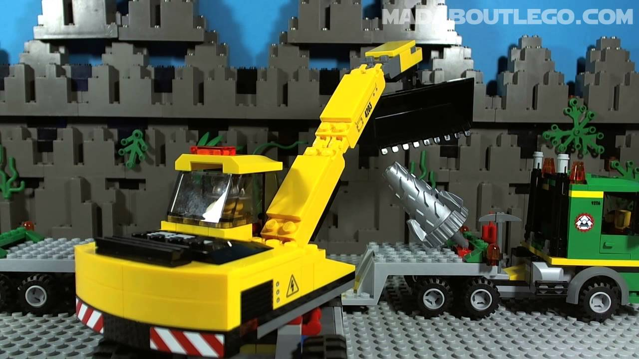 lego city mining youtube