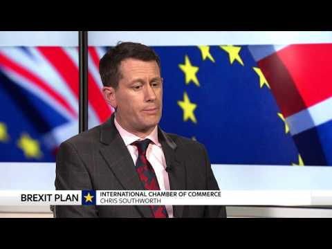 Boss of International Chamber of Commerce reacts to Theresa May's Davos speech