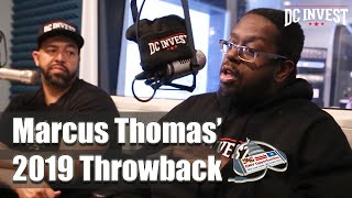 Marcus Thomas 2019 Throwback - DC Invest DMV Opportunities