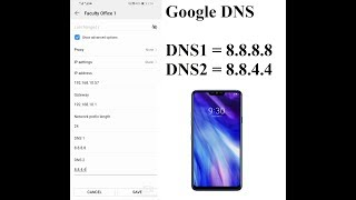 how To Change DNS Settings On Android