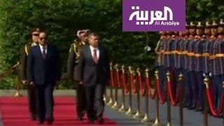 قمة اردنية مصرية