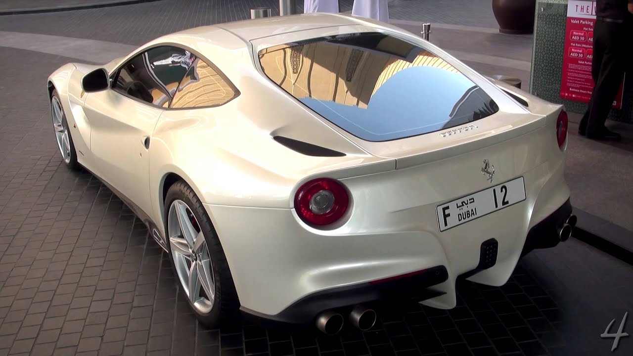 Bianco Fuji Ferrari F12berlinetta Youtube