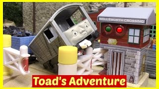Thomas and Friends Accidents Will Happen Toy Trains Thomas the Tank Engine Full Episode Toad thumbnail