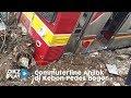KRL Terguling Di Kebon Pedes, PT KCI Sarankan Transportasi Lain