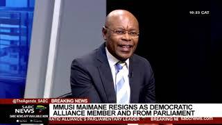 Unpacking  Democratic Alliance resignations