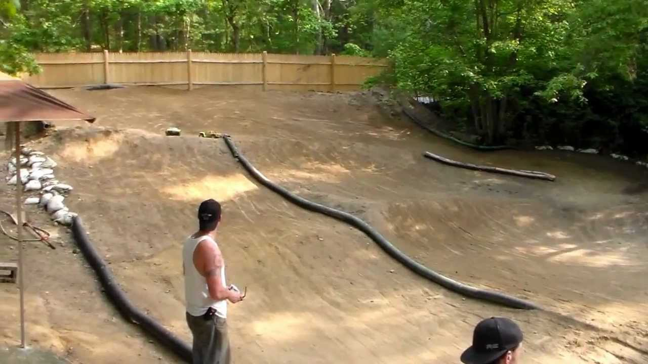 my backyard rc track: Short Course Hackers - YouTube