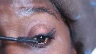 My Everyday Bronzy Cat Eye look #Darkskin