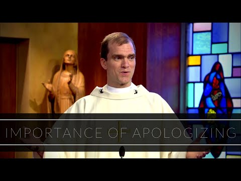 Importance of Apologizing | Homily: Father Michael Sheehan
