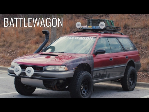 The BATTLEWAGON - The Most Obnoxious Outback Ever.