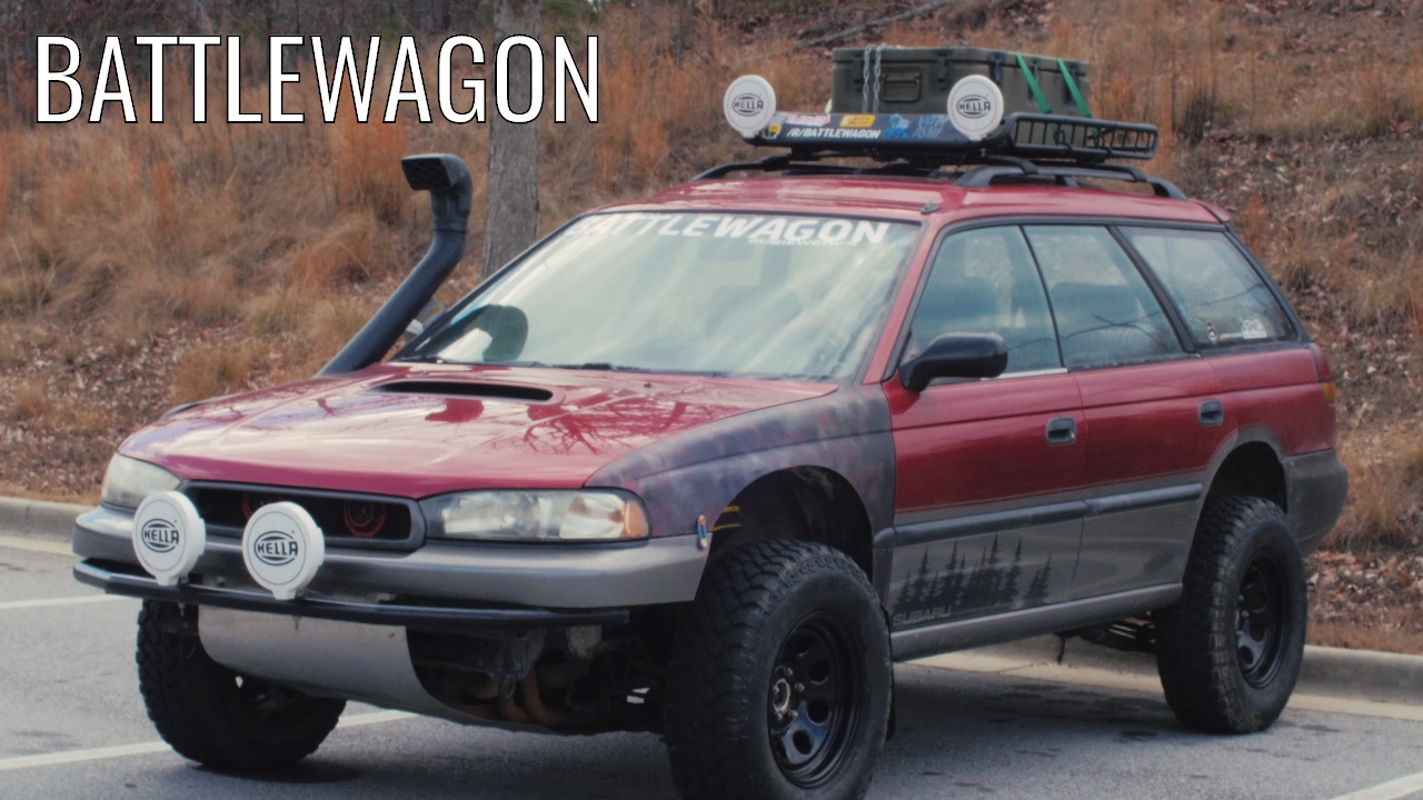 The BATTLEWAGON - The Most Obnoxious Outback Ever