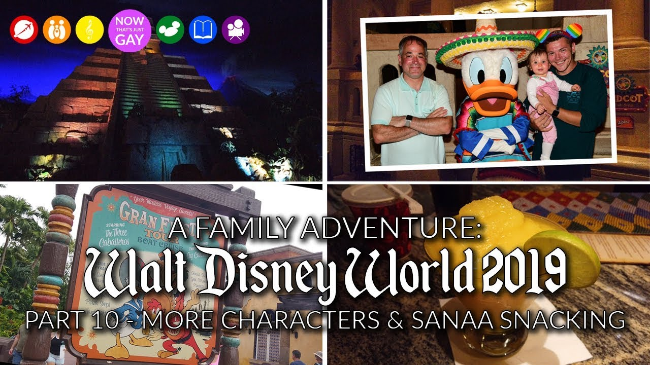 A Family Adventure: Walt Disney World 2019 Part 10 - More Characters & Sanaa Snacking