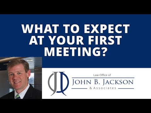 What to expect at your first meeting?