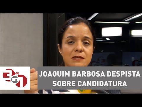 Joaquim Barbosa despista sobre candidatura à Presidência