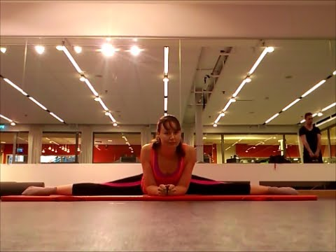 Middle splits and straddles, with - 27.3KB