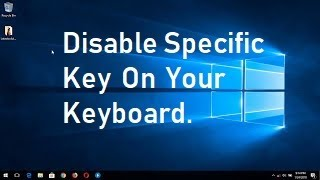 How to Disable a Key on Your Keyboard