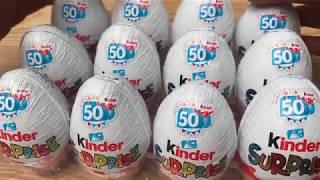Bóc trứng KINDER Surprise Eggs : Trứng socola đồ chơi bí ẩn - Dinosaur egg