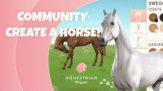 We let the community create a horse! [Equestrian the Game]