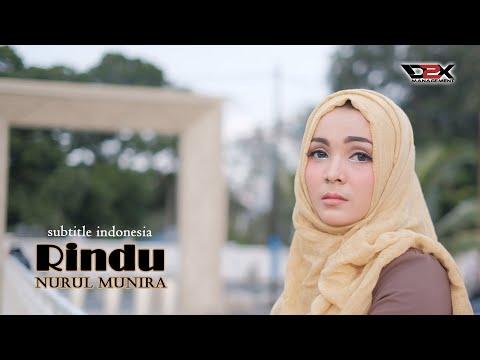 NURUL MUNIRA - RINDU (Official Video Lirik)