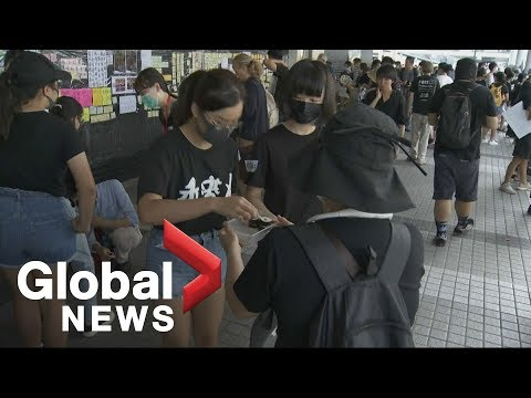 The peaceful and and polite side to the Hong Kong protests