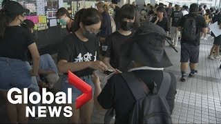 The peaceful and polite side to the Hong Kong protests