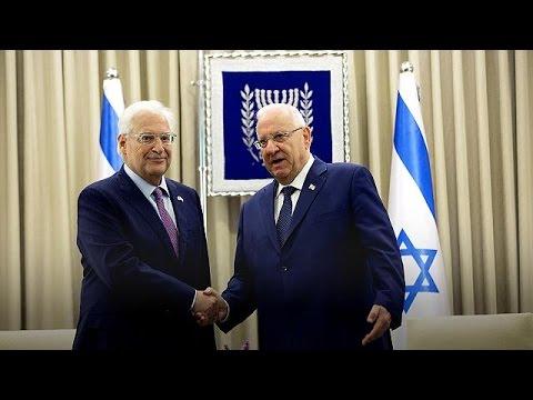 New US ambassador to Israel sworn in amid diplomatic row