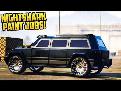 7+ AWESOME PAINT JOBS FOR THE HVY NIGHTSHARK IN GTA ONLINE!
