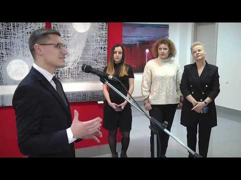 2019-12-11 г. Брест. Выставка «Траекторыя руху». Новости на Буг-ТВ. #бугтв
