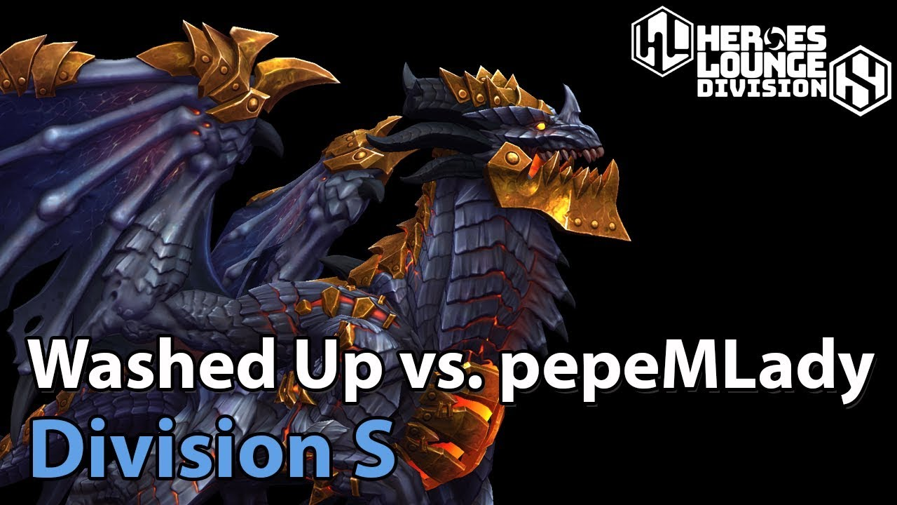 ► Washed Up vs. pepeMLady - Division S - Heroes of the Storm Esports