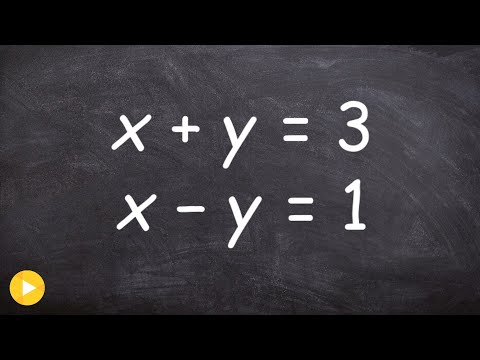 Solve a system of equations by graphing in standard form