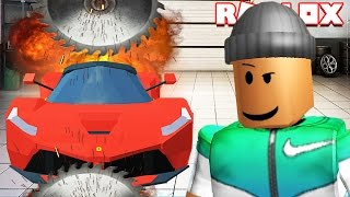 DESTROYING $1,000,000 CARS IN ROBLOX