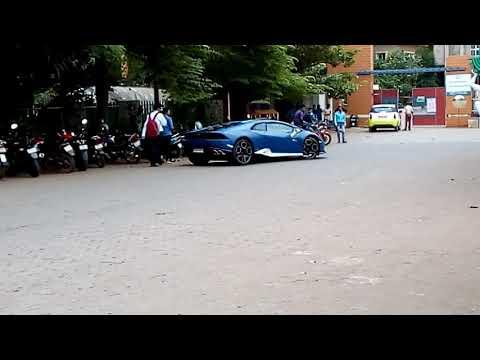 Lamborghini spotted at kiit univ bhubaneshwar