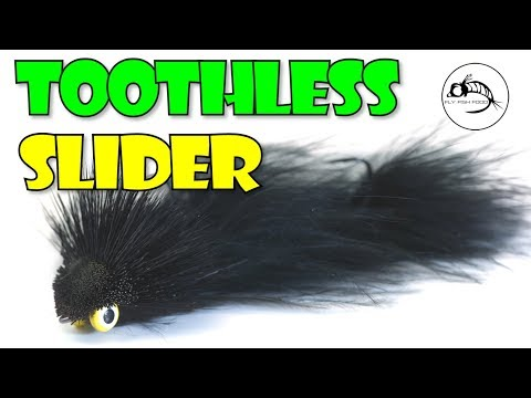 The Toothless Dragon Slider - WEDGE HEAD Streamer