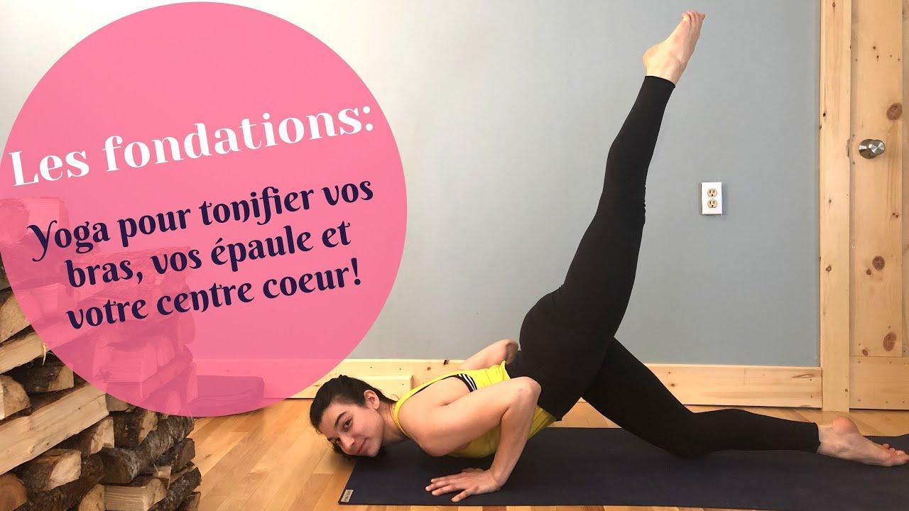 Yoga débutant : Tonifier les épaules, les bras, les mains et activer le centre cœur.