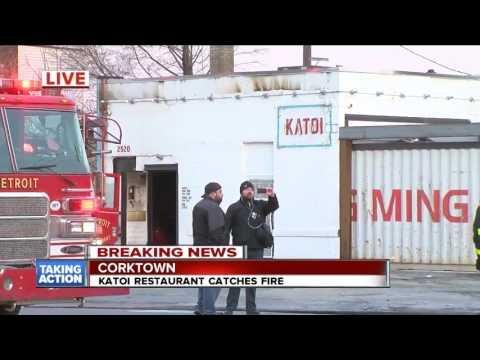 Katoi restaurant fire in Corkt katoi