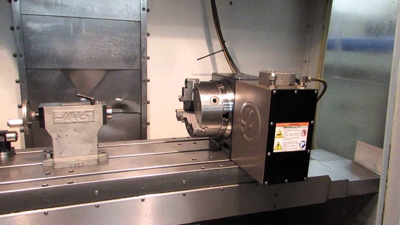 Haas VF-2 CNC 4-Axis VMC w Probing and HRT-210 Rotary For Sale At  www machinesused com