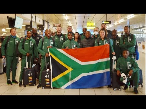 SA Athletics Team Departure for the Olympic Games