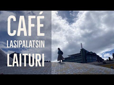Cup of tea in HELSINKI centre: Lasipalatsin Laituri   #EUROPE