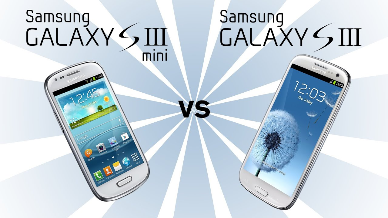 Samsung Galaxy S3 Mini v Samsung Galaxy S3 - YouTube  Samsung Galaxy ...