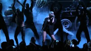 Lady Gaga Live @ The 2011 Grammy Nominations - 'Marry The Night' (HD) Thumbnail